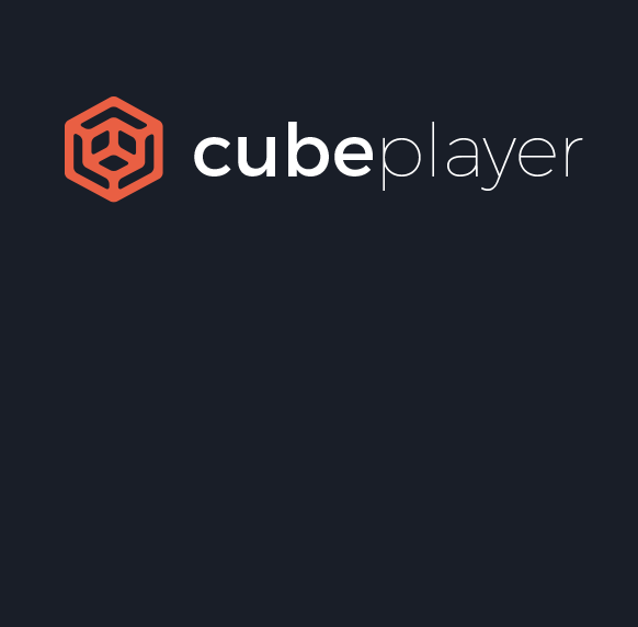 Cube player logo